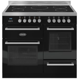 Britannia RC-10XGI-QL-K 100cm Q Line XG Induction Range Cooker – BLACK