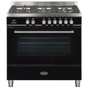 Britannia RC-9SG-QL-K 90cm Q Line Dual Fuel Single Oven Range Cooker – BLACK