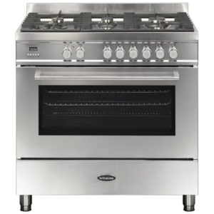 Britannia RC-9SG-QL-S 90cm Q Line Dual Fuel Single Oven Range Cooker – STAINLESS STEEL