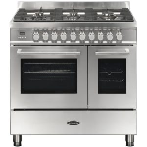 Britannia RC-9TG-QL-S 90cm Q Line Dual Fuel Twin Oven Range Cooker – STAINLESS STEEL