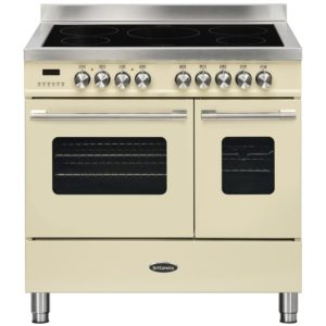 Britannia RC-9TI-DE-CR 90cm Delphi Induction Twin Oven Range Cooker – CREAM