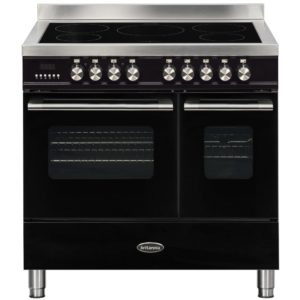 Britannia RC-9TI-DE-K 90cm Delphi Induction Twin Oven Range Cooker – BLACK