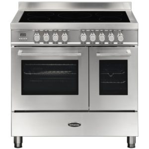 Britannia RC-9TI-QL-S 90cm Q Line Induction Twin Oven Range Cooker – STAINLESS STEEL