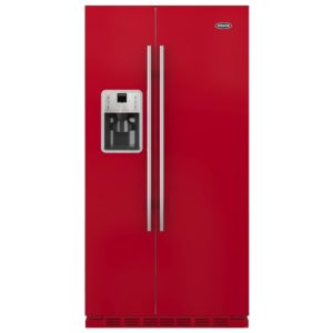 Britannia FF-MONTANA-R American Fridge Freezer Ice & Water – RED