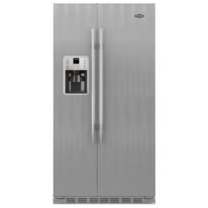 Britannia FF-MONTANA-S American Fridge Freezer Ice & Water – STAINLESS STEEL