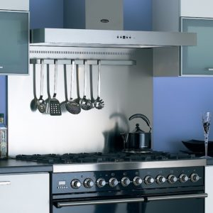 Smeg KIT1A1-9 90cm Splashback – STAINLESS STEEL