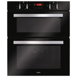CDA DC740BL Built Under Electric Double Oven – BLACK