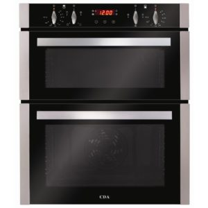 CDA DC740SS Built Under Electric Double Oven – STAINLESS STEEL
