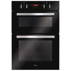 CDA DC940BL Built In Electric Double Oven - BLACK