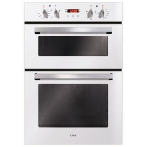 CDA DC940WH Built In Electric Double Oven - WHITE