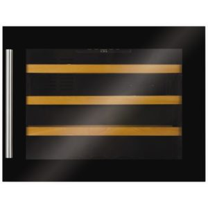 CDA FWV451BL 46cm Integrated In Column Wine Cooler – BLACK