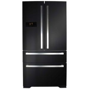 CDA PC870BL French Style Fridge Freezer - BLACK