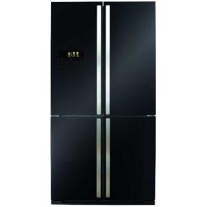 CDA PC900BL American Style Four Door Fridge Freezer - BLACK