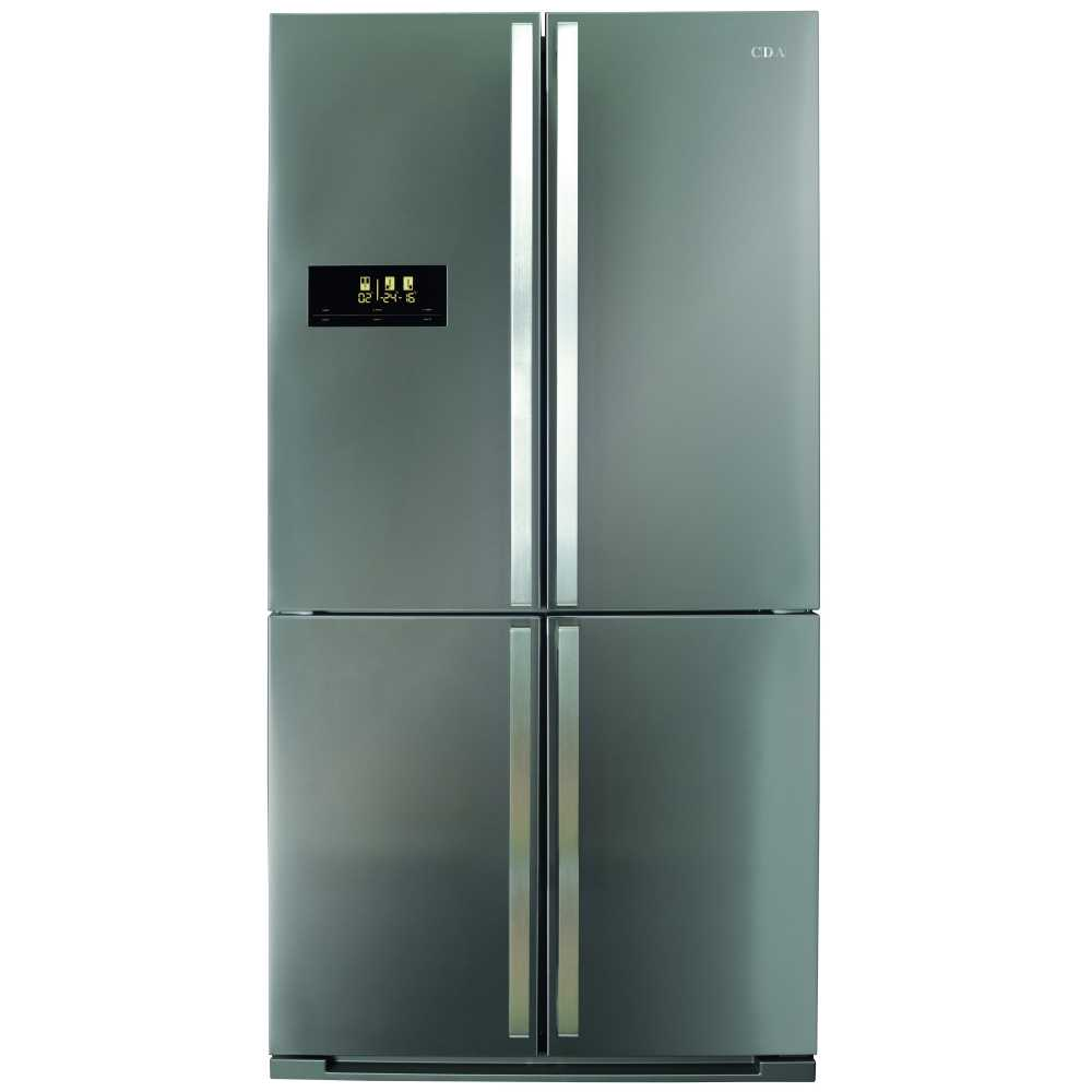 Cda Pc900ss American Style Four Door Fridge Freezer