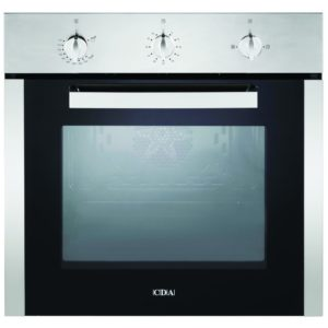 CDA SG120SS Built In Single Fanned Gas Oven - STAINLESS STEEL