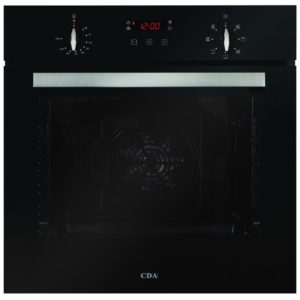 CDA SK310BL Built In Single Multifunction Oven - BLACK
