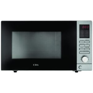 CDA VM100SS Freestanding Microwave – STAINLESS STEEL