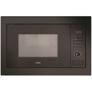 CDA VM130BL Built In Microwave For Tall Housing – BLACK