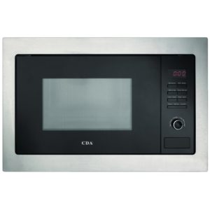 CDA VM230SS 60cm Built In Microwave & Grill For Tall Housing – STAINLESS STEEL