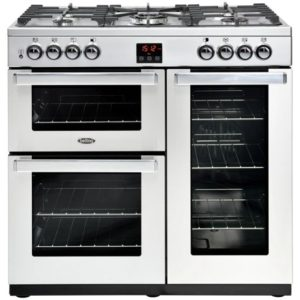 Belling COOKCENTRE 90GPROFSTA 4075 90cm Gas Range Cooker – STAINLESS STEEL