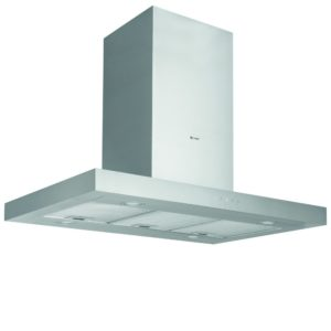 Caple OI363 36cm Orbit Cylinder Island Hood – STAINLESS STEEL