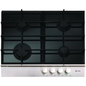 Caple C739G 60cm Gas On Glass Hob With Steel Trim – STAINLESS STEEL