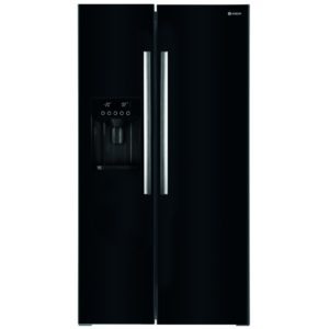Caple CAFF207BK American Style Fridge Freezer Ice & Water – BLACK