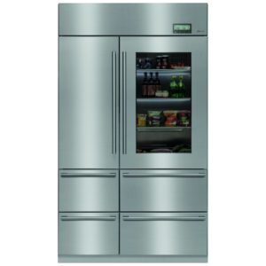 Caple CAFF60 American Style Fridge Freezer Non Ice & Water – STAINLESS STEEL