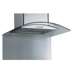 Caple CSBCURVE905 90cm Curved Splashback – STAINLESS STEEL - STAINLESS STEEL