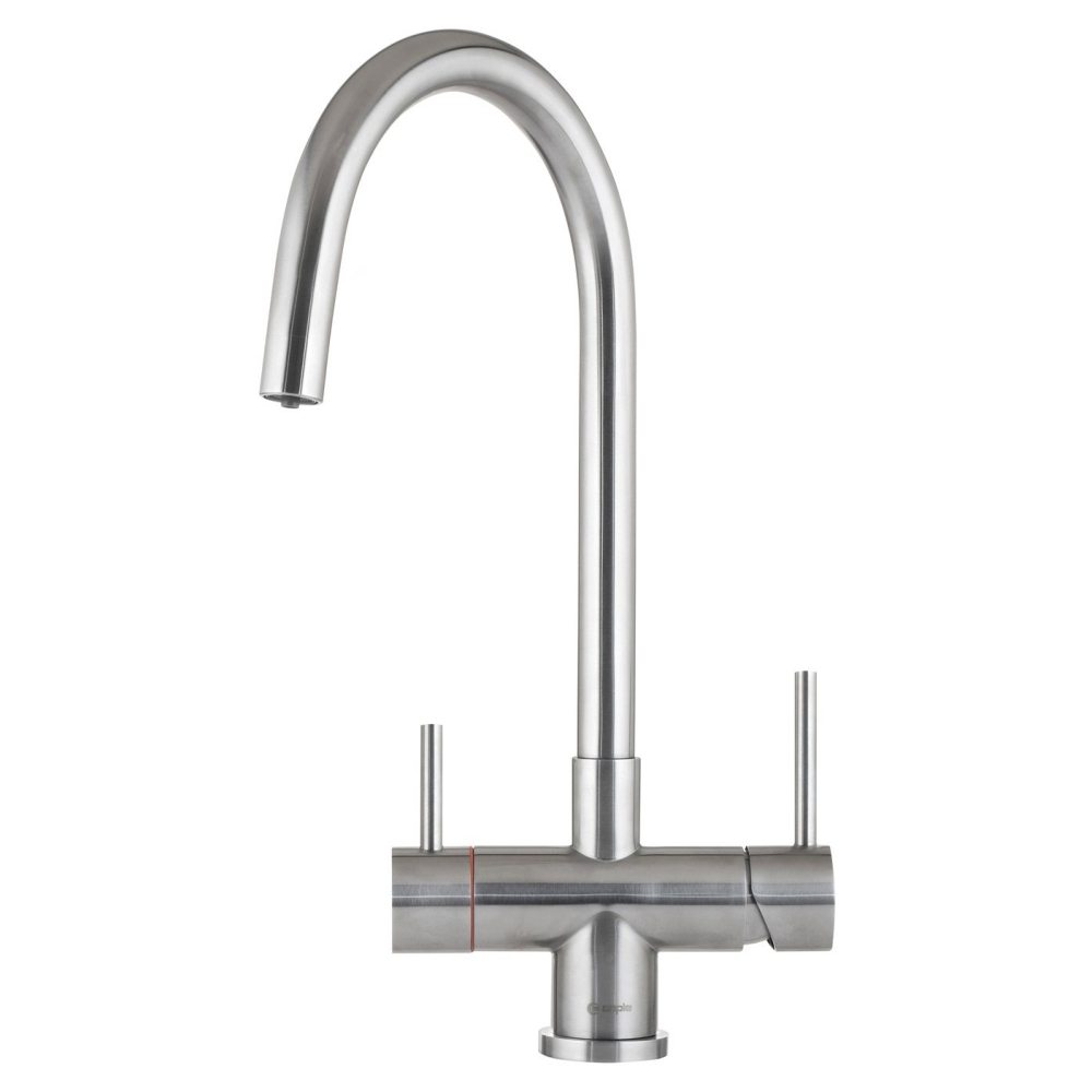 Image of Caple VAP3IN1SS Vapos 3-In-1 Steaming Hot Water Tap - STAINLESS STEEL