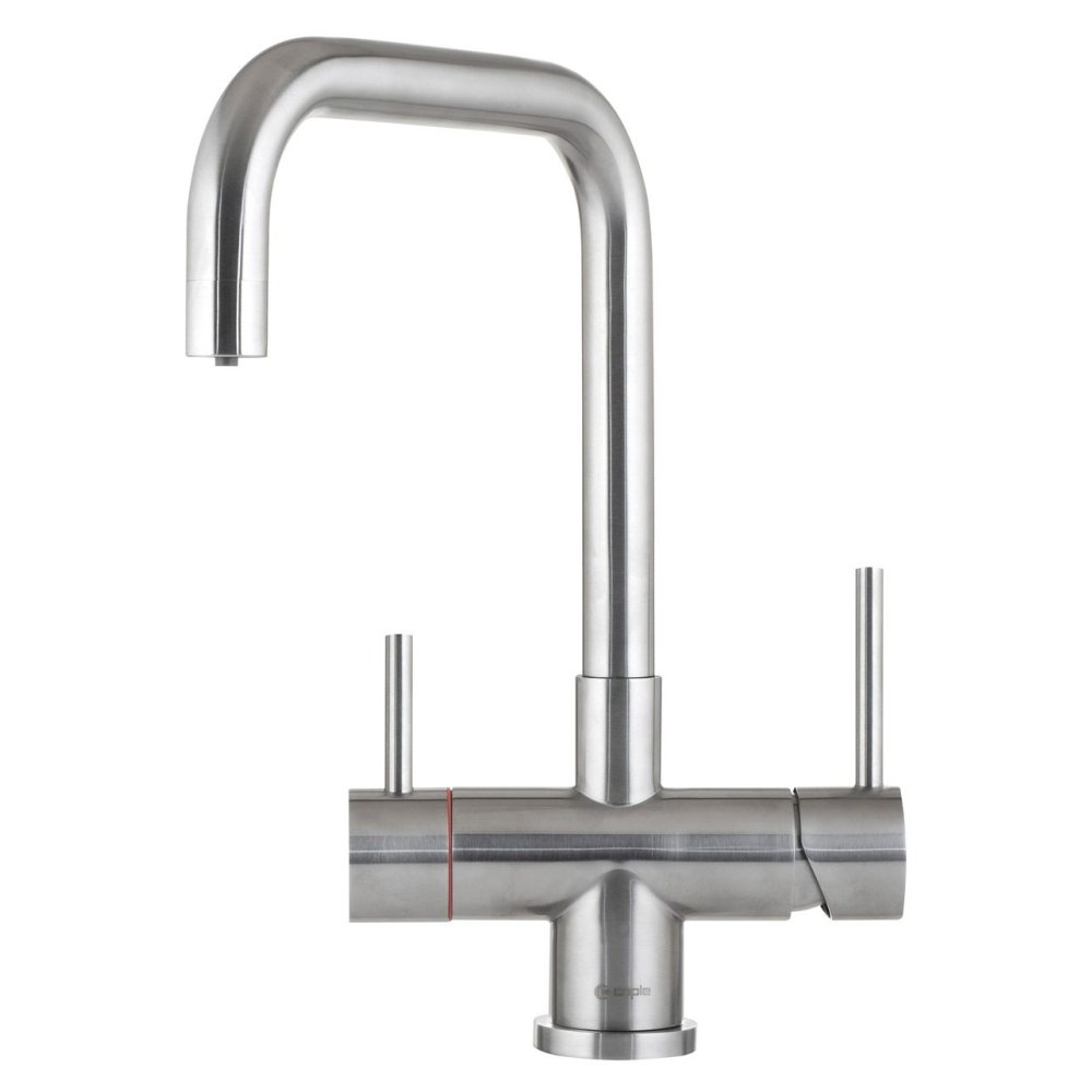 Image of Caple VAPQ3IN1SS Vapos 3-In-1 Steaming Hot Water Tap - STAINLESS STEEL