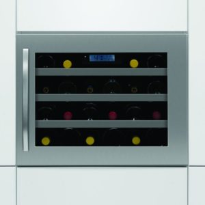 Caple WC6113 46cm Integrated In Column Wine Cooler - STAINLESS STEEL