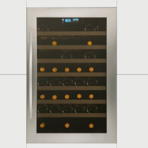 Caple WC6117 88cm Integrated In Column Wine Cooler - STAINLESS STEEL