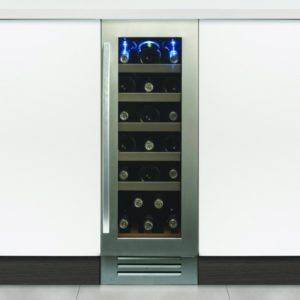 Caple WI3121 30cm Undercounter Wine Cooler - STAINLESS STEEL