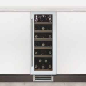 Caple WI3122WH 30cm Undercounter Wine Cooler - WHITE