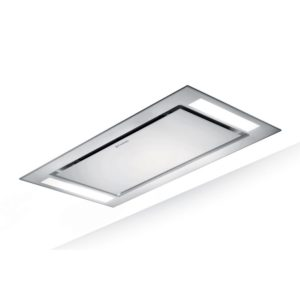 Faber HEAVEN GLASS 2.0 SLIM 90 90cm Ceiling Hood - WHITE