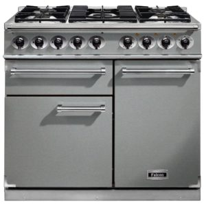 Falcon F1000DXDFSS/CM F1000 Deluxe Dual Fuel Range Cooker – STAINLESS STEEL