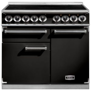 Falcon F1000DXEIBL/C F1000 Deluxe Induction Range Cooker – BLACK