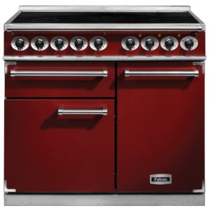 Falcon F1000DXEIRD/N F1000 Deluxe Induction Range Cooker – RED