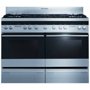 Fisher Paykel OR120DDWGX2 120cm Dual Fuel Range Cooker - STAINLESS STEEL