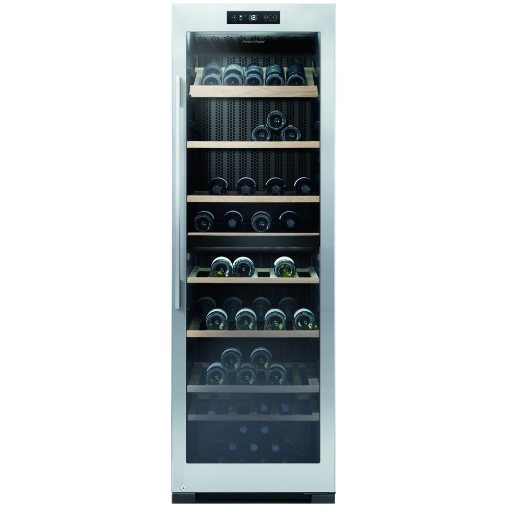 fisher paykel rf356rdwx1 60cm freestanding dual zone wine. Black Bedroom Furniture Sets. Home Design Ideas