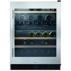 Fisher Paykel RS60RDWX1 60cm Freestanding Undercounter Dual Zone Wine Cooler – STAINLESS STEEL