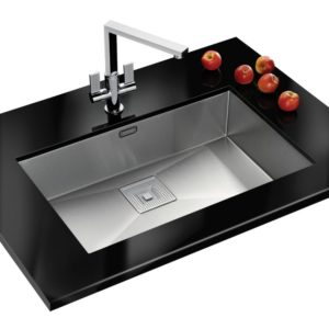 Franke FSX210 TPL SS Frames By Franke Single Bowl Sink – STAINLESS STEEL