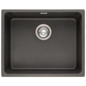 Franke KUBUS KBG110 50 ON Kubus Single Bowl Fragranite Undermount Sink – ONYX