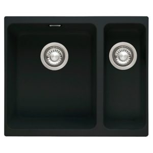 Franke KUBUS KBG160 ON Kubus 1.5 Bowl Fragranite Undermount Sink – ONYX