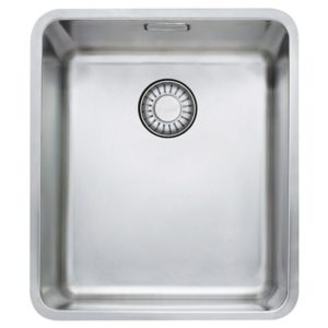 Franke KUBUS KBX110 34 Kubus Single Bowl Undermount Sink – STAINLESS STEEL