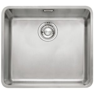 Franke KUBUS KBX110 45 Kubus Single Bowl Sink - SILKSTEEL