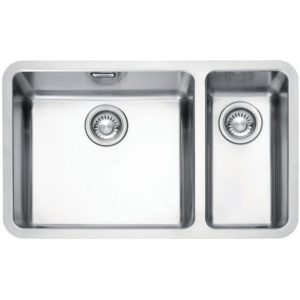 Franke KUBUS KBX160 45-20 RHSB Kubus 1.5 Bowl Sink Right Hand Small Bowl – SILKSTEEL