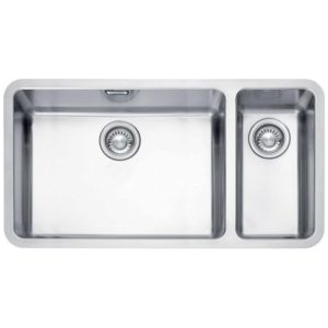 Franke KUBUS KBX160 55-20 RHSB Kubus 1.5 Bowl Undermount Sink Right Hand Small Bowl – STAINLESS STEEL