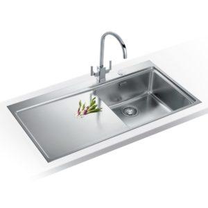 Franke MYTHOS SLIM-TOP MMX211 LHD Mythos Sink Left Hand Drainer – STAINLESS STEEL